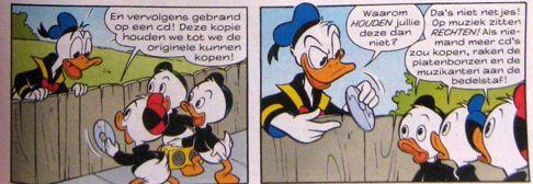 Bron: Donald Duck 49 van 2007, © Disney Corp.
