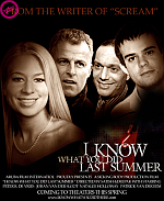 Parodie op filmposter I know what you did last summer