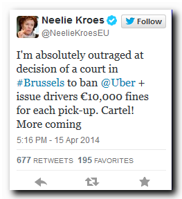 kroes-tweet-uber