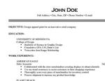 cv-resume-curriculum-vitae
