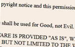 json-licentie-good-evil