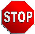 stop-bord