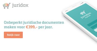 Onbeperkt juridische documenten maken voor €399 per jaar!